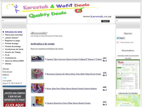 Karestali deals tienda en inea